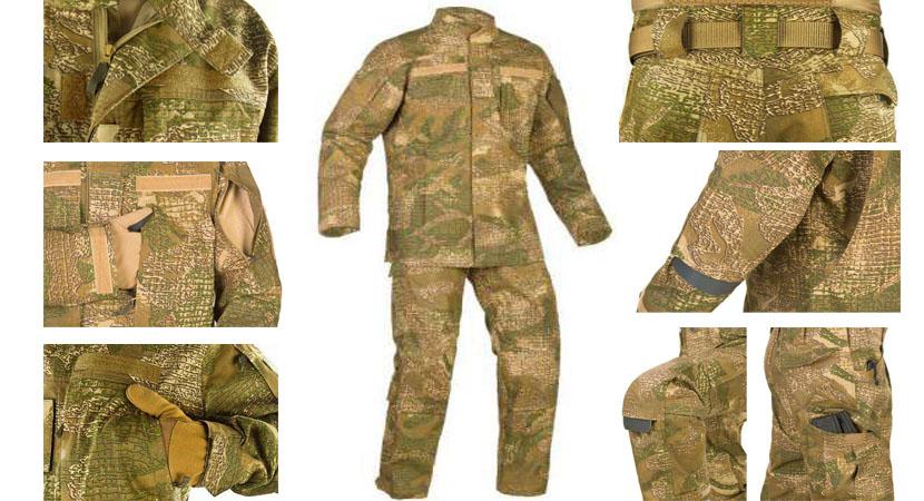 Одежда военного