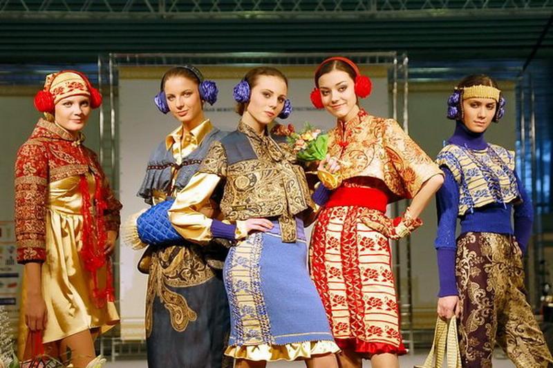 Отображение русского характера в одежде