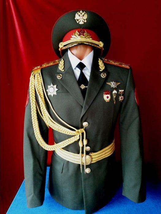 Парадный костюм военных России