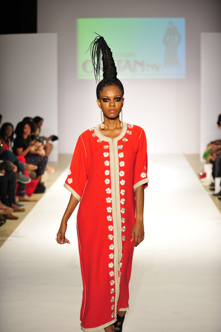 Платье из Марокко