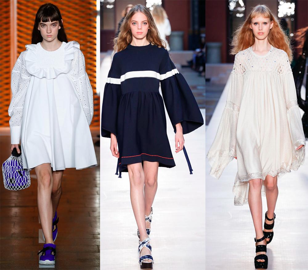 Платья в стиле oversize