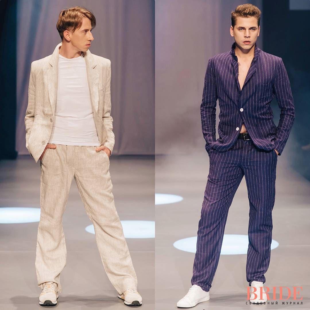 Показ бренда мужской дизайнерской одежды