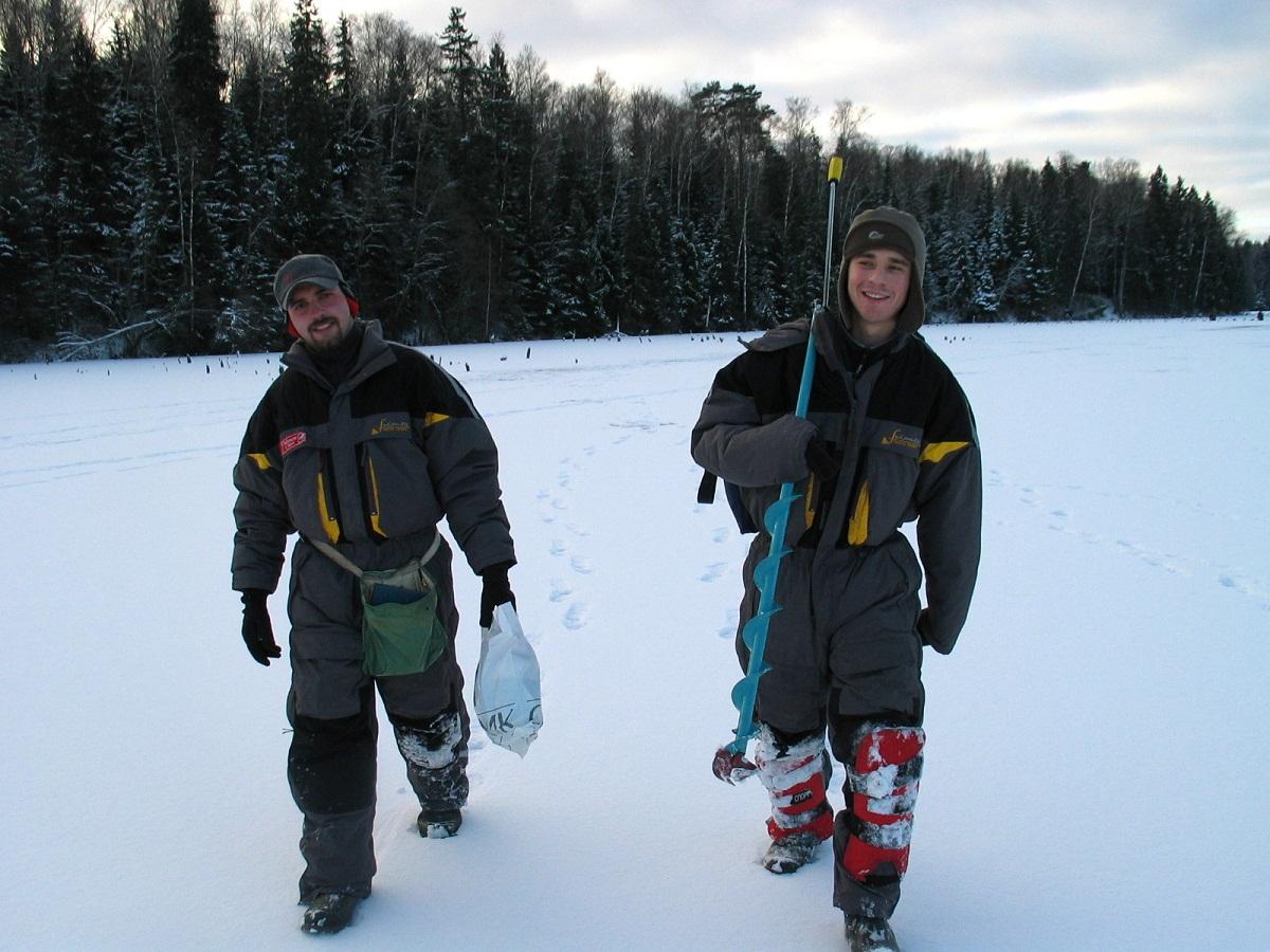 Правильная одежда для зимней рыбалки