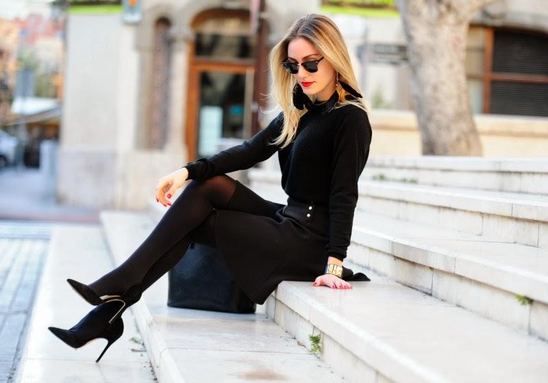 Преимущества и недостатки черной одежды