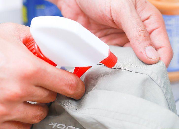 Пятновыводитель - помощник в снятии резинки