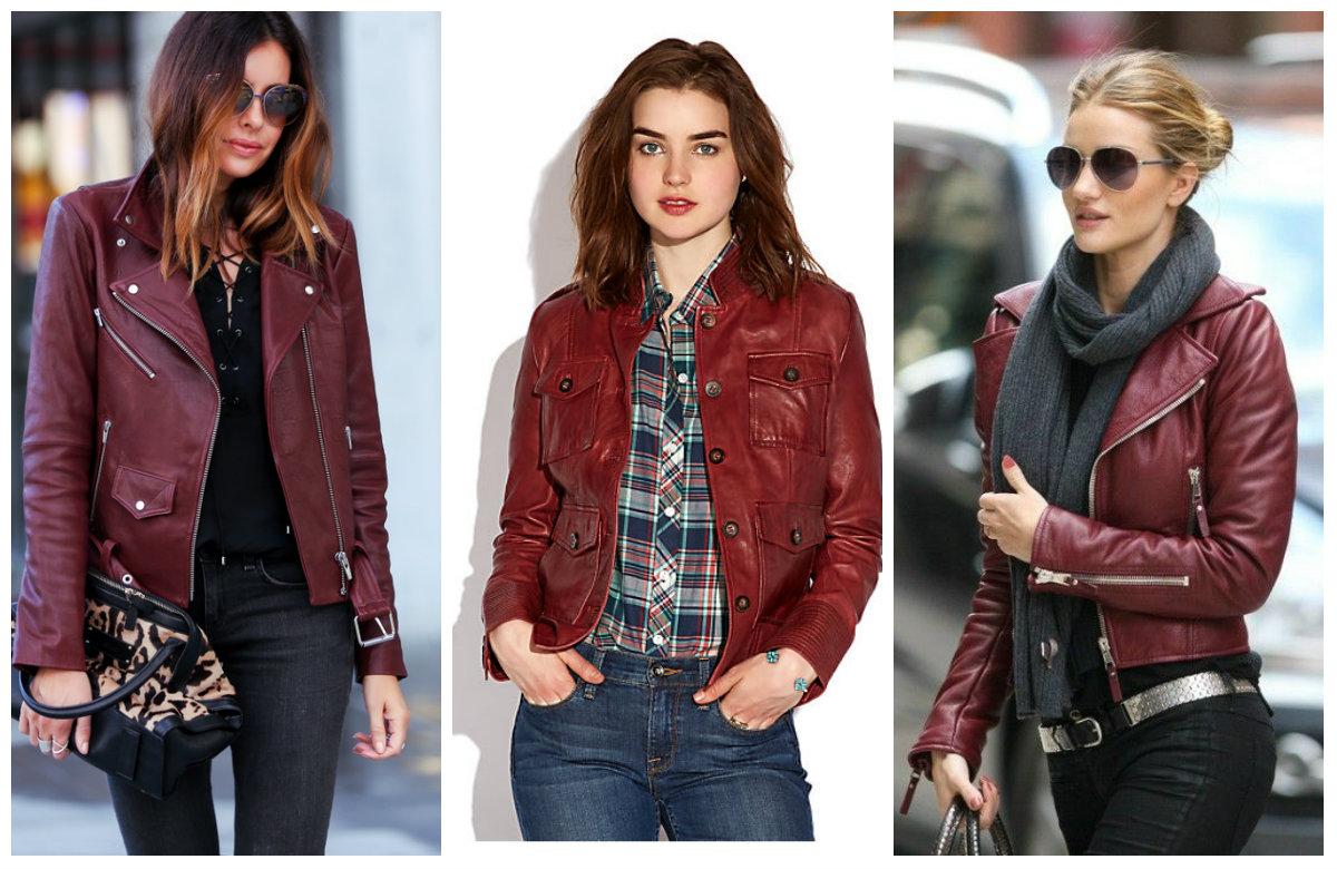 Сочетание бордового цвета в одежде — как правильно выбрать и с чем носить