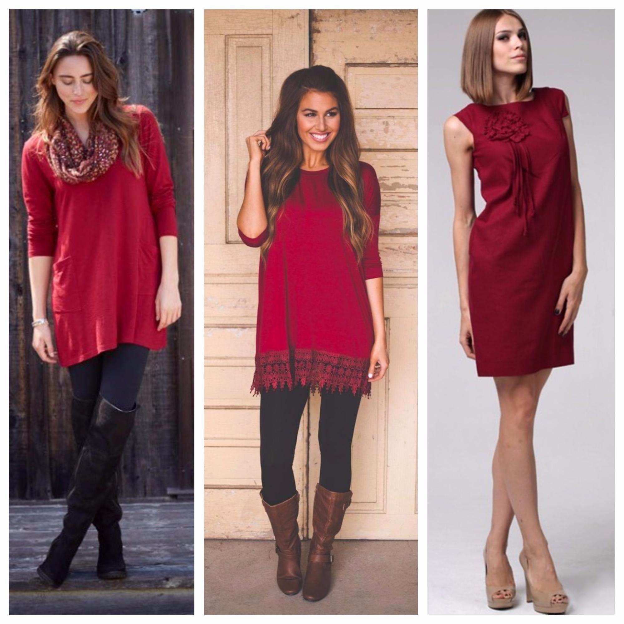 Сочетание бордового цвета в одежде — как выбрать и с чем носить