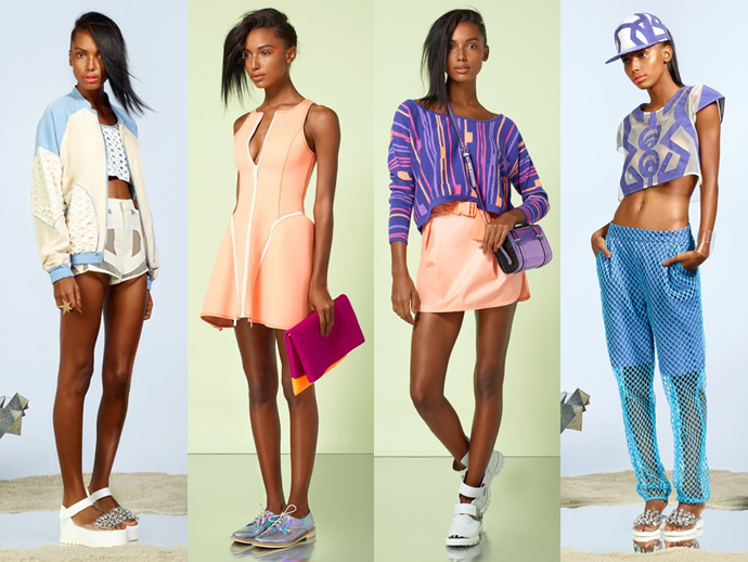 Стиль и мода 90-х годов