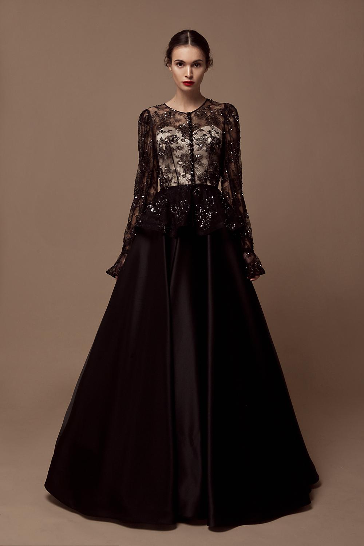 Свадебное платье в готическом стиле