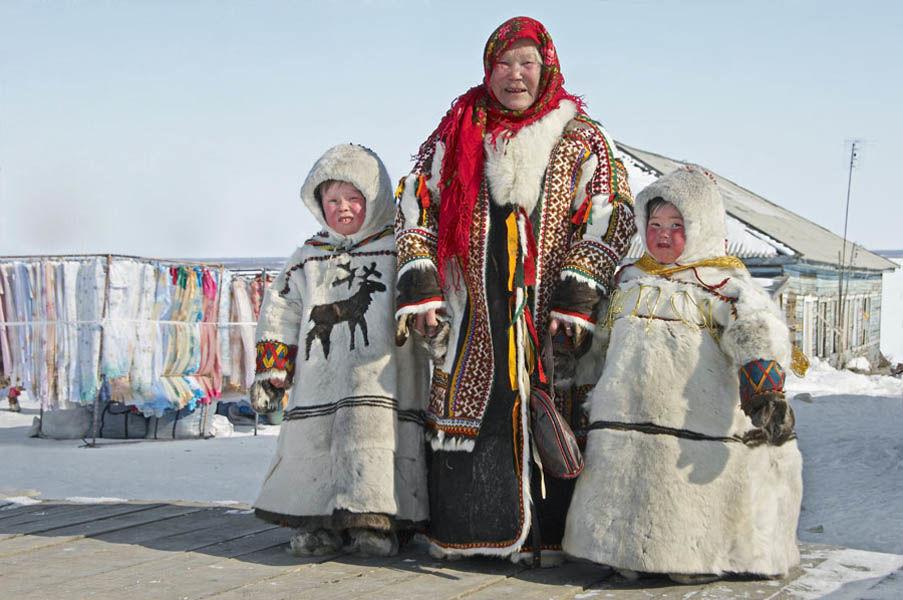 Теплая северная одежда