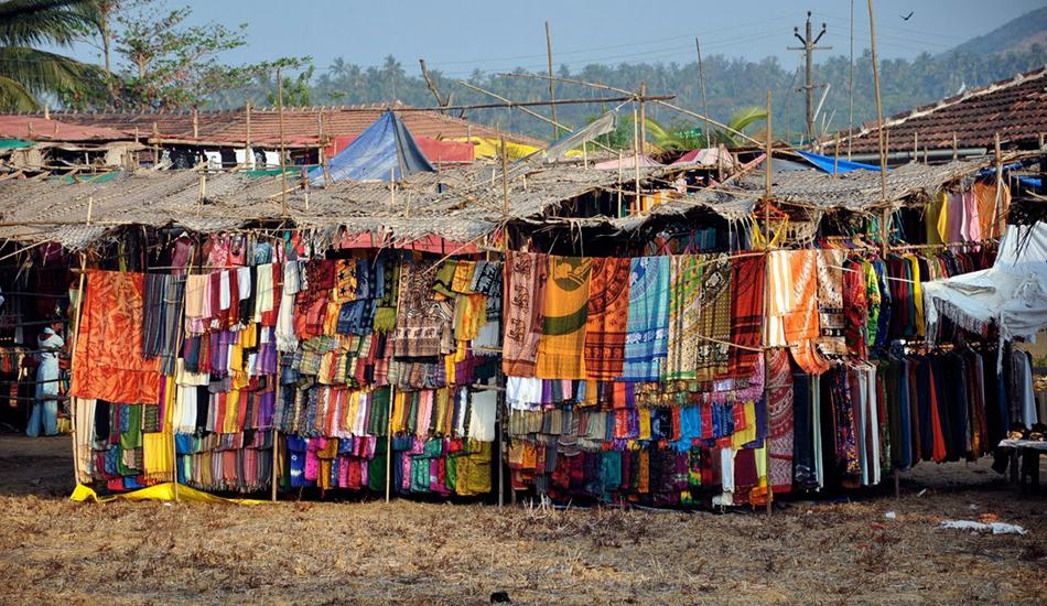 Тканевый рынок в Индии