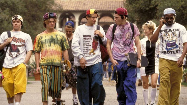 Уникальная мужская мода 90-х