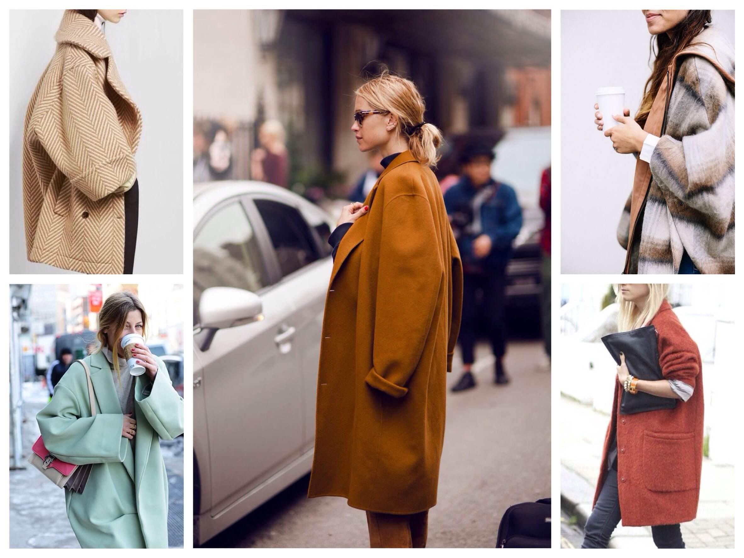 Варианты пальто