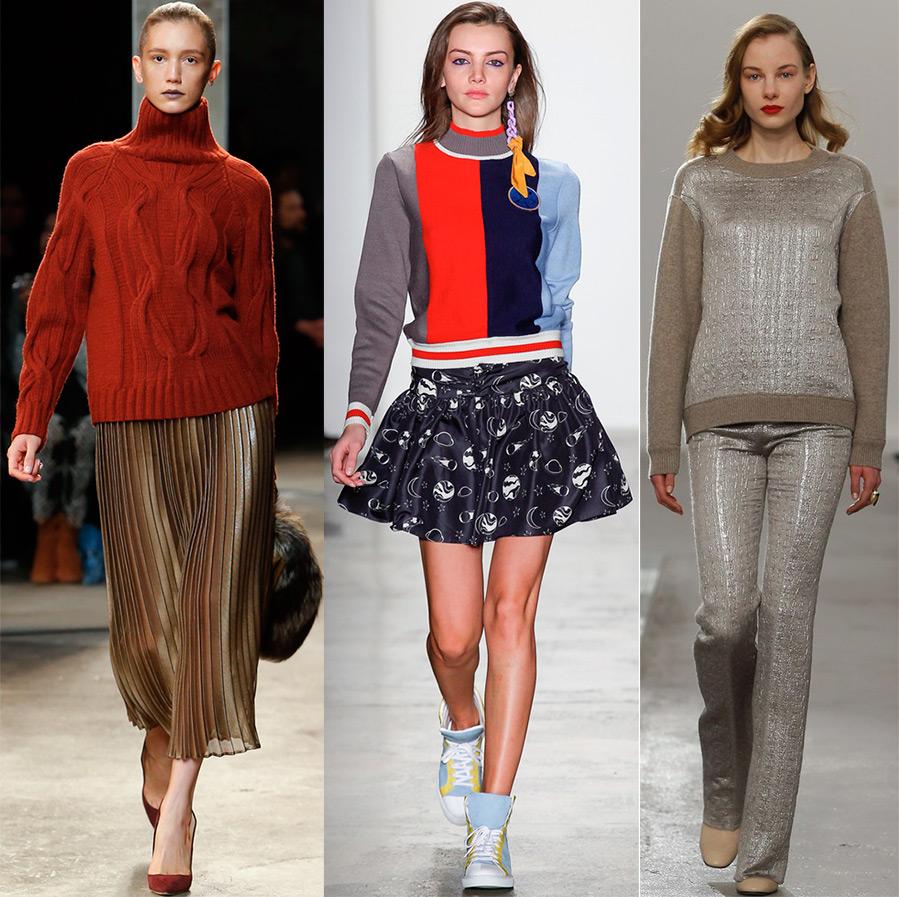 Варианты свитеров