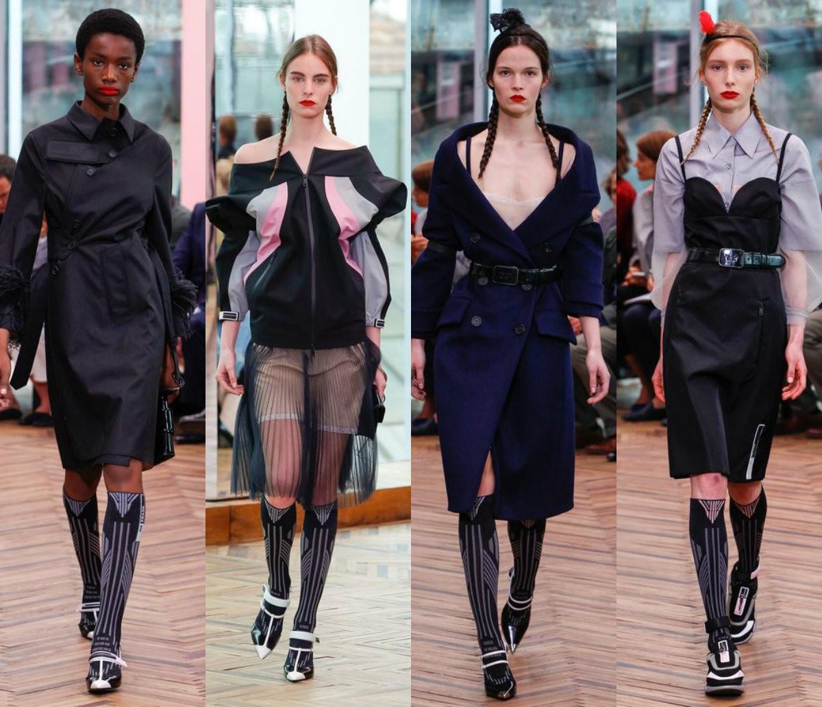 Весенняя коллекция женской одежды Prada