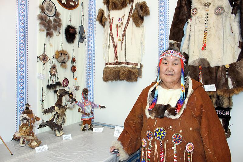 Выставка одежды народов Севера