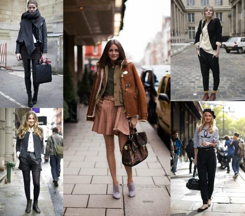 Ансамбли одежды во французском стиле