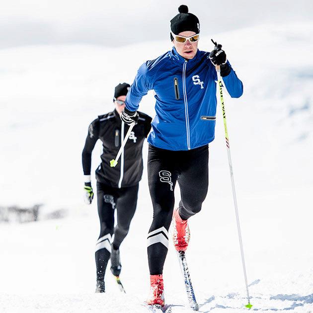 Бег на лыжах