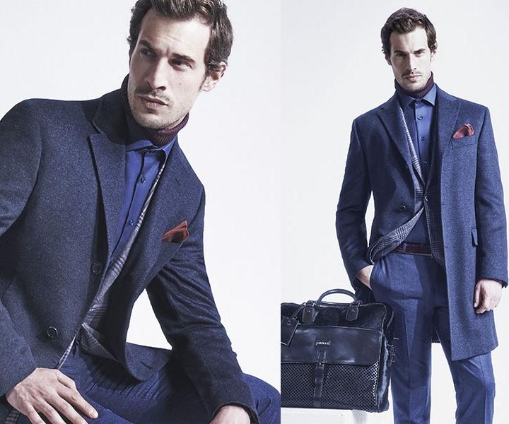 Деловая мужская одежда итальянского бренда