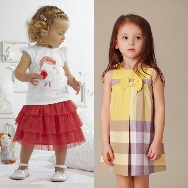 Детская мода на лето