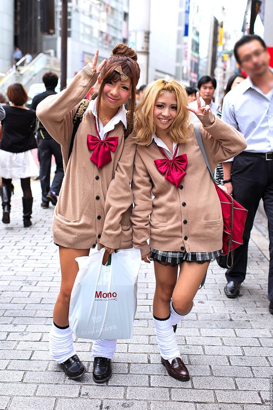 Экзотическая японская мода