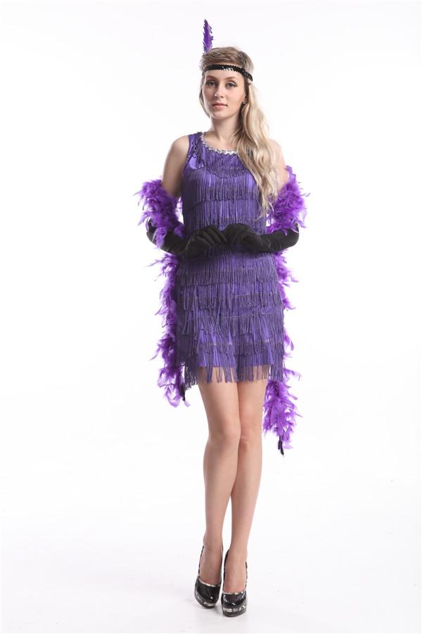Фиолетовое красивое платье