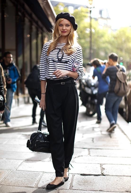 Французское направление в стиле женской одежды