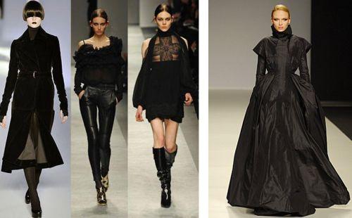 Готический стиль одежды средневековья