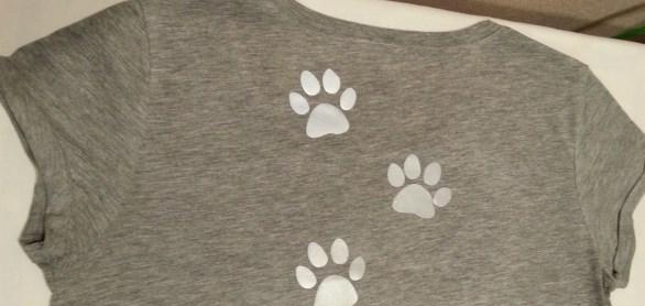 Готовый вариант оформления футболки