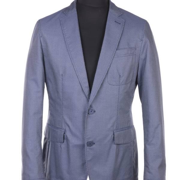 Хлопковый современный классический пиджак