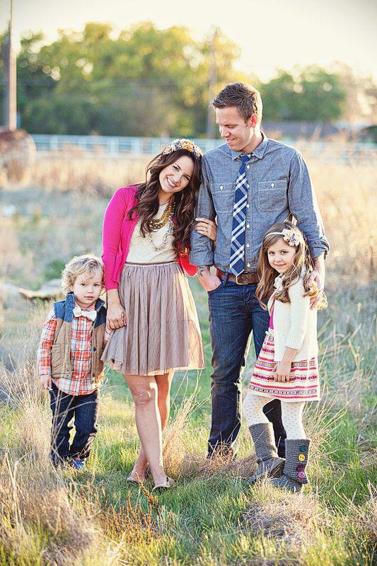 Как одеться на семейную фотосессию