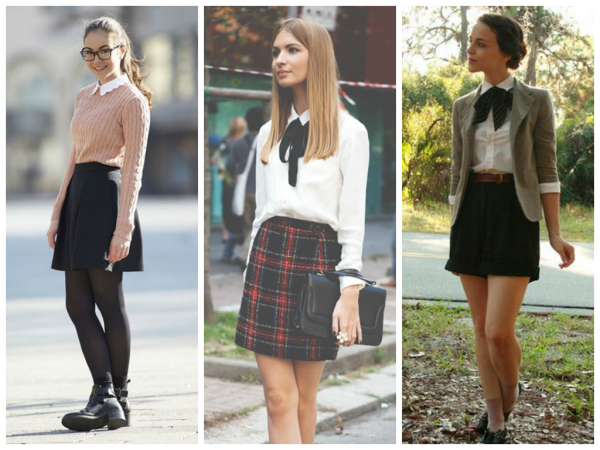 Как одеться в школу