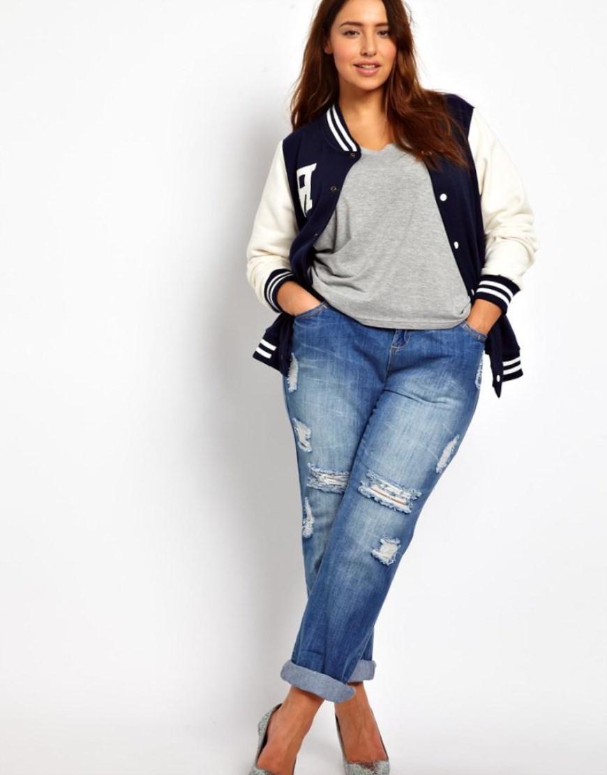 Как выбрать джинсы полным