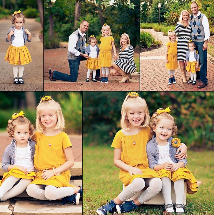 Как выбрать одежду для семейной фотосессии