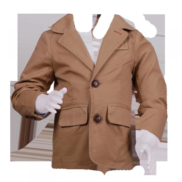 Классический пиджак бежевого цвета мальчику