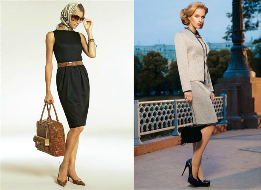 Классический стиль в одежде, правила составления гардероба f08a83c7ab8
