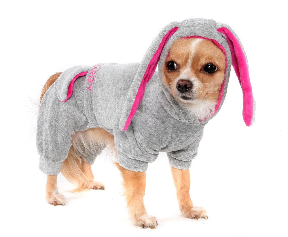 Комбинезон с ушами для собаки