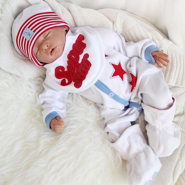 Комплект «Супер Стар» для новорожденного маленького мальчика