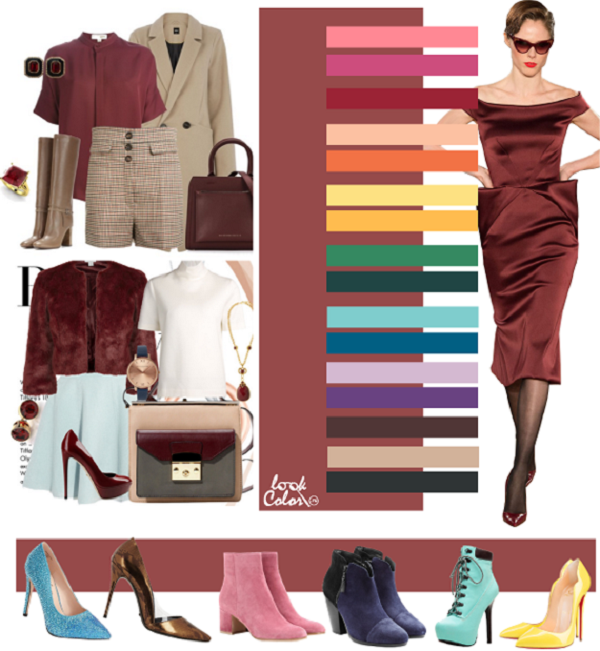 Коричневый оттенок современной одежды