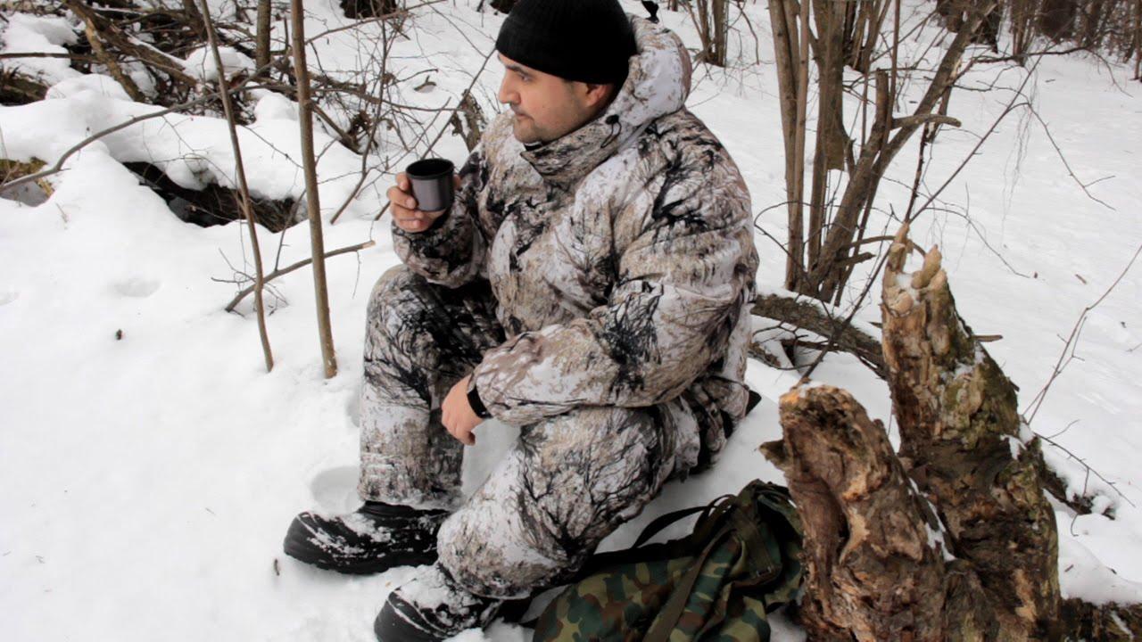 Костюм для зимней охоты и рыбалки