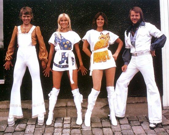 Костюмы группы ABBA