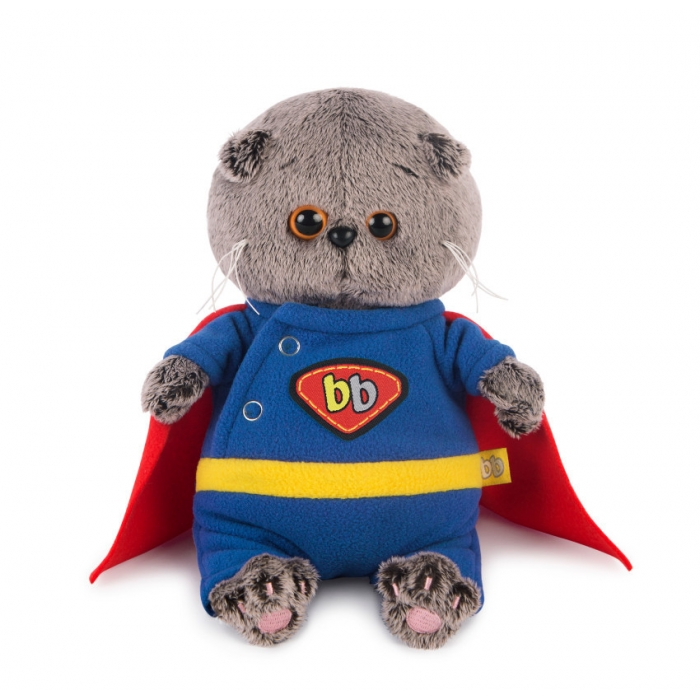 Кот в роли супермена