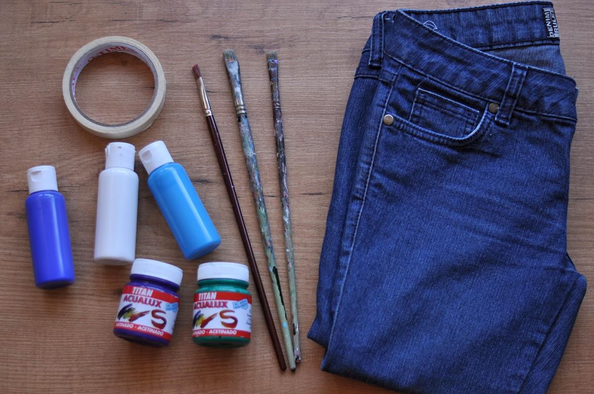 Краска для джинсов