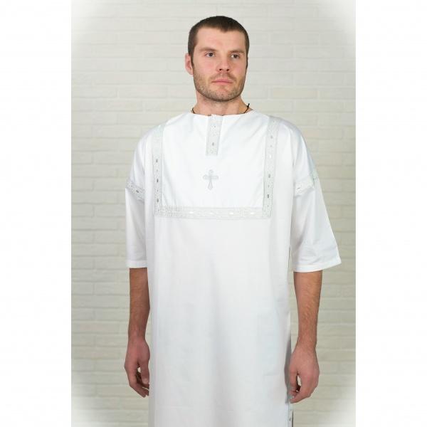 Крестильная рубашка для взрослых мужская