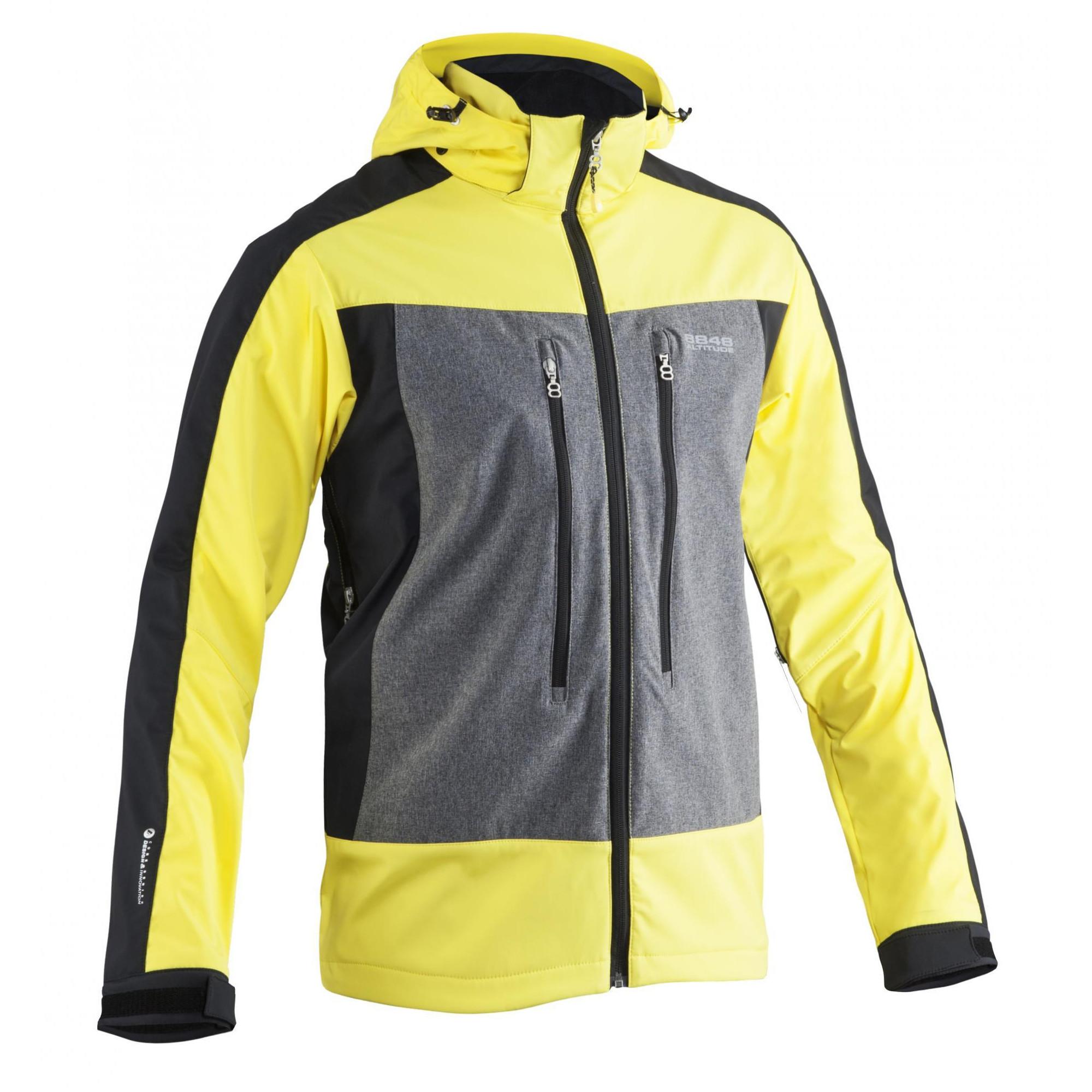 Куртка с флисовой вставкой