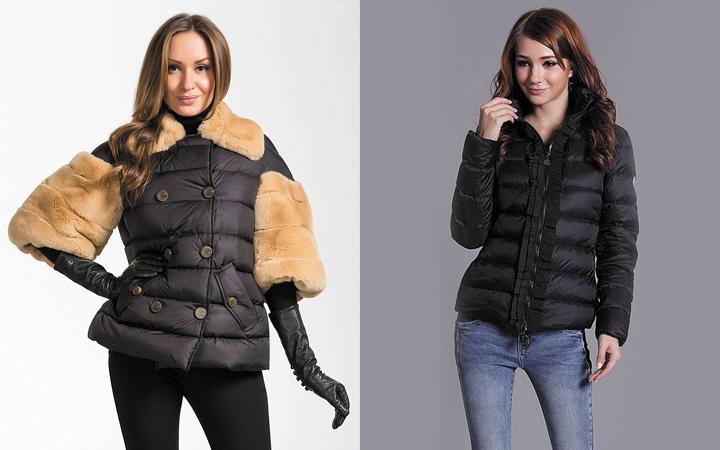 Легкие куртки-дутики