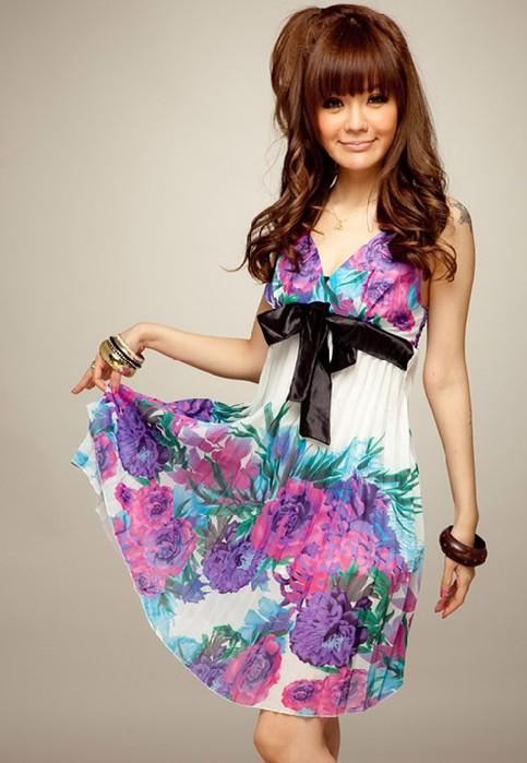 Легкое платье для девушки