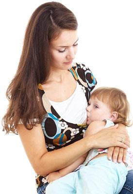 Летняя футболка с секретами для кормления ребенка грудью