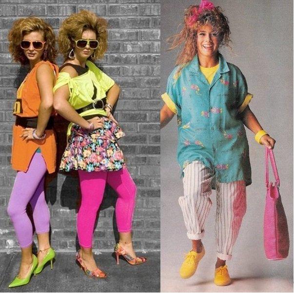 Мода конца 80-х