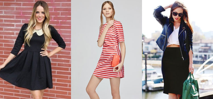 Модная одежда для подростков платья и юбки